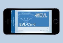 Nach App-Relaunch: Die EVL-Card wird digital